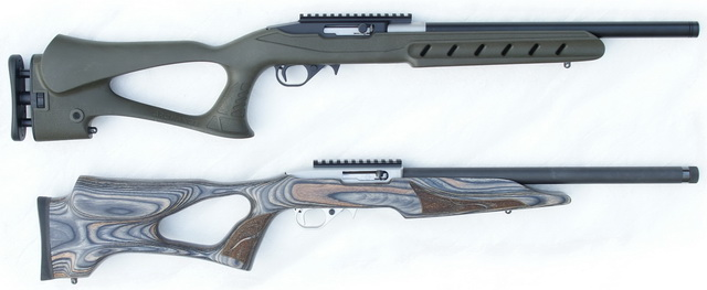 KIDD 10/22 in Archangel stock, Ruger 10/22 with Feddersen barrel in Vantage stock