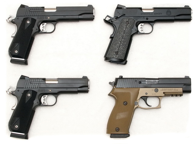 Sig Nightmare, Springfield TRP, Carry Nightmare, P220 Combat