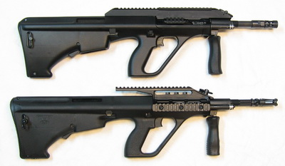 Steyr AUG/A3 and MSAR STG-556