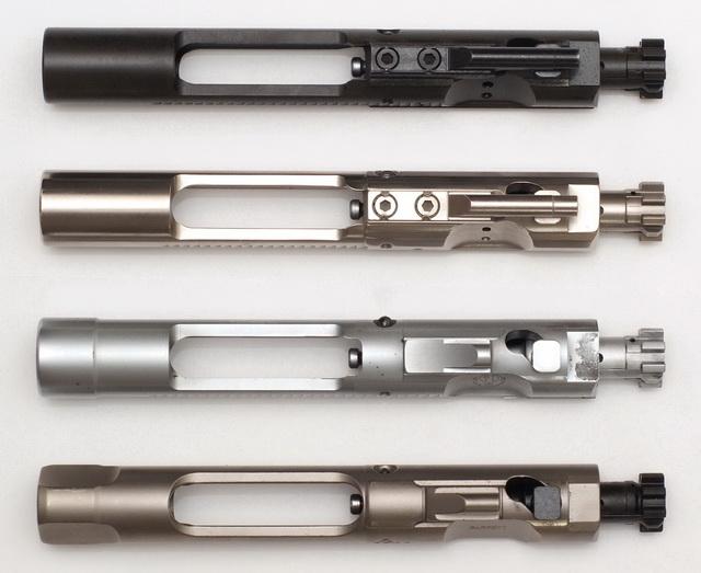 AR-15 bolts: Parkerized, NiB, Chrome, NP3
