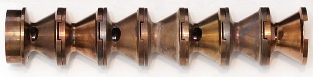Baffle stack from AAC Element II suppressor