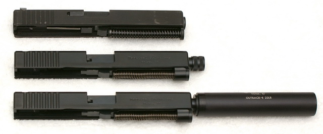 Glock 17 and TSG-22 uppers