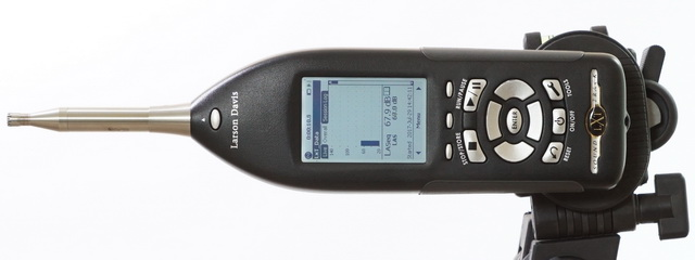 Larson-Davis LXT1-QPR sound level meter
