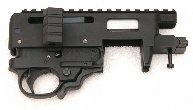 PWS T3 receiver and trigger assembly