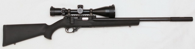 PWS T3 with Hogue stock and Outback II suppressor