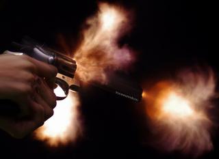 Revolver Cylinder Gap Blast
