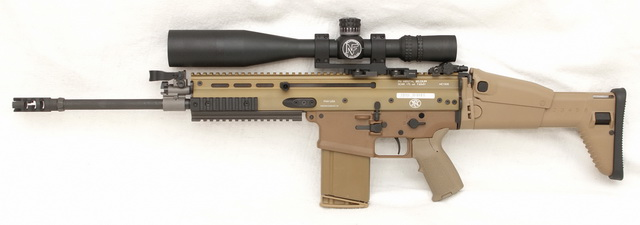 SCAR 17S FDE color, left side