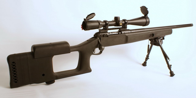 Savage 10FP in .223 Remington with Nikon Buckmaster 4.5-14x40 scope