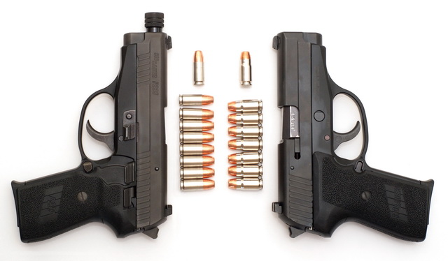 Sig P239s in 9mm and .357 SIG