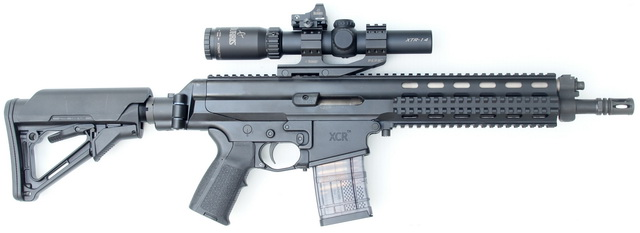 XCR equipped with a precision stainless 11