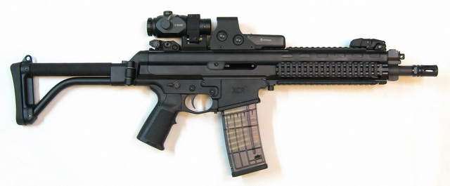Robinson Armament XCR-L 11-inch with EOTech 512, AR-Tripler in LaRue 649-S mount