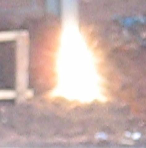 Starburst incendiary .308 explosion