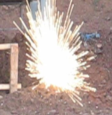 Starburst incendiary .308 sparks